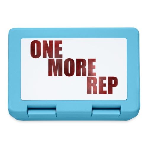 ONE MORE REP Gym Workout Freizeit - Brotdose