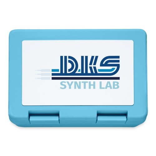 DKS SYNTH LAB Flat Blue - Lunch box