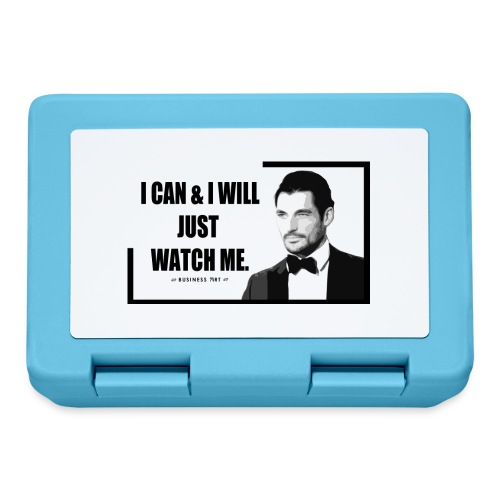 I can i will just watch me - Lunch box
