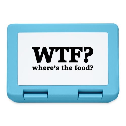 WTF - Where's the food? - Broodtrommel