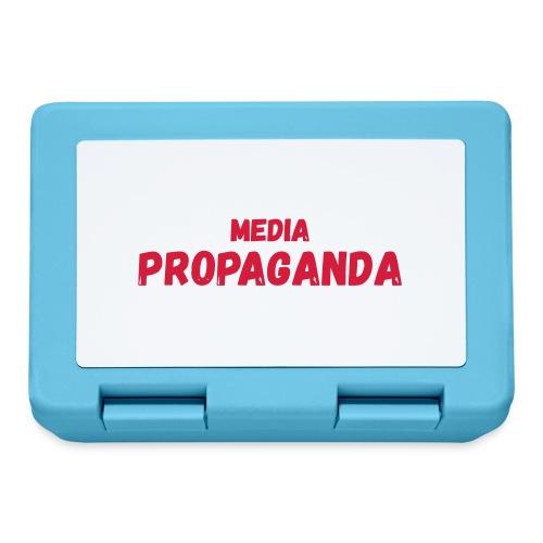 Media propaganda, propagande, fake news, mensonge - Boîte à goûter.