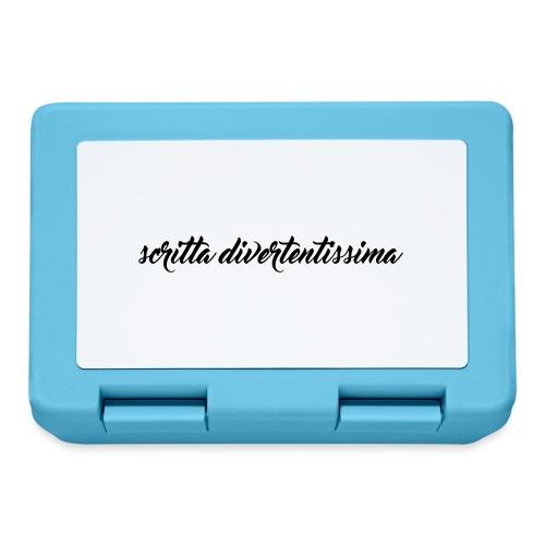 SCRITTA DIVERTENTE - Lunch box