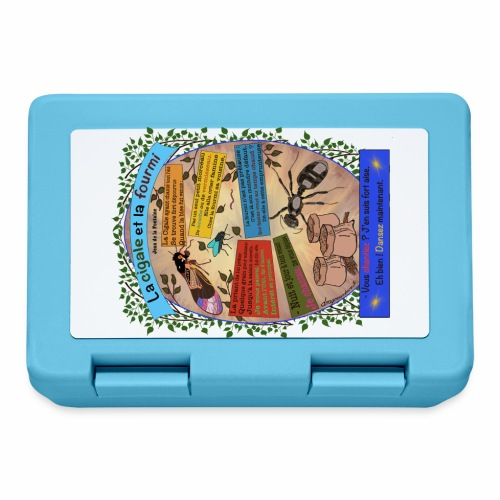 La Cigale et la Fourmi (Jean de la Fontaine) - Lunchbox