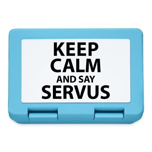 Keep calm and say Servus - Brotdose