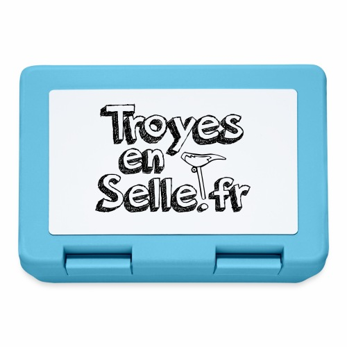 logo Troyes en Selle noir - Boîte à goûter.