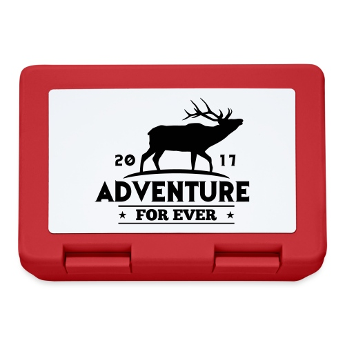 ADVENTURE FOR EVER - CERVO - Lunch box