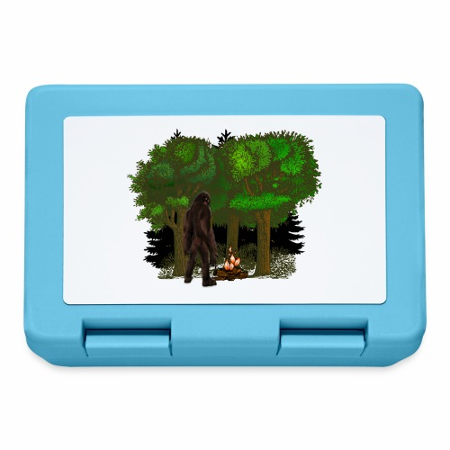 Bigfoot Campfire Forest - Lunchbox