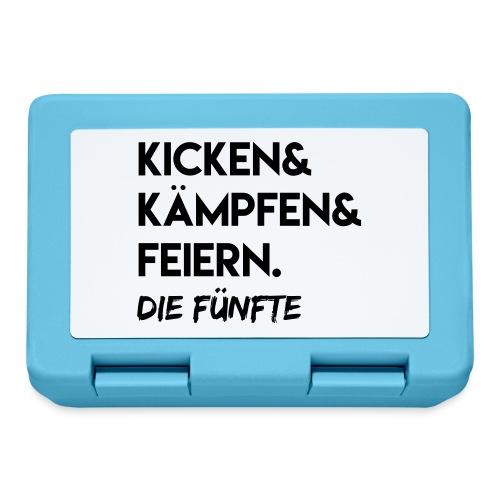 Kicken & Kämpfen & Feiern. Die Fünfte - Brotdose