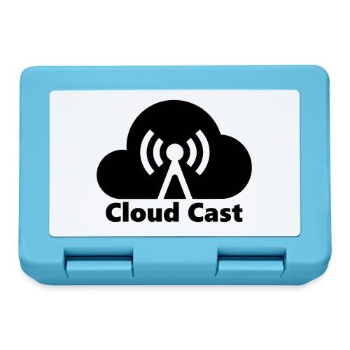 Cloud Cast Black mit Schriftzuga - Brotdose
