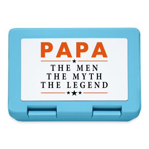 PAPA THE LEGEND - Lunchbox