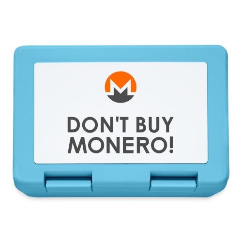 Don't Buy Monero! - Lunchbox