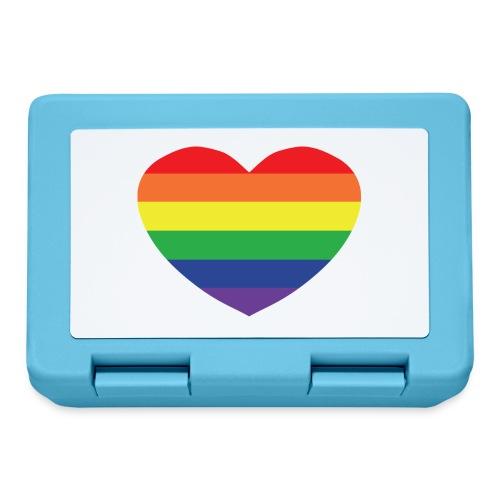 Rainbow heart - Lunchbox