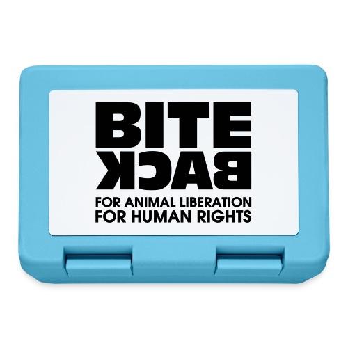 Bite Back logo - Broodtrommel