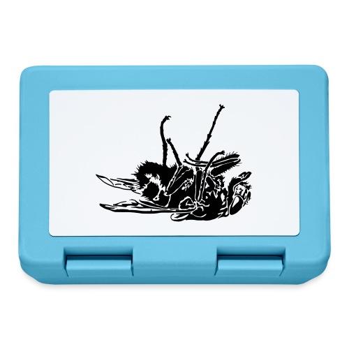 mouche morte - Boîte à goûter.
