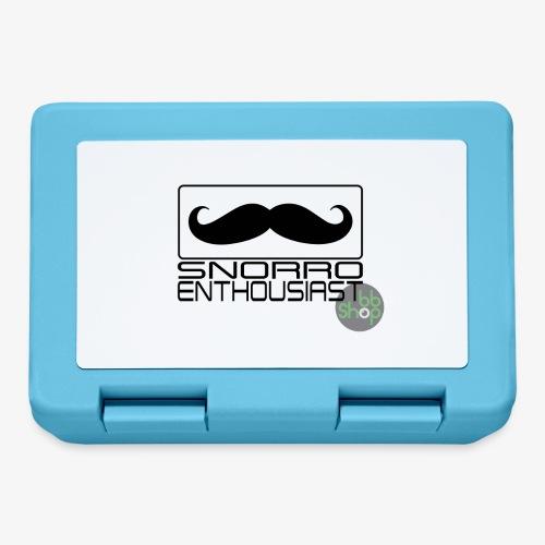Snorro enthusiastic (black) - Lunchbox