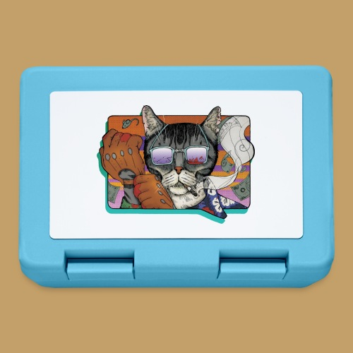 Crime Cat in Shades - Pudełko na lunch
