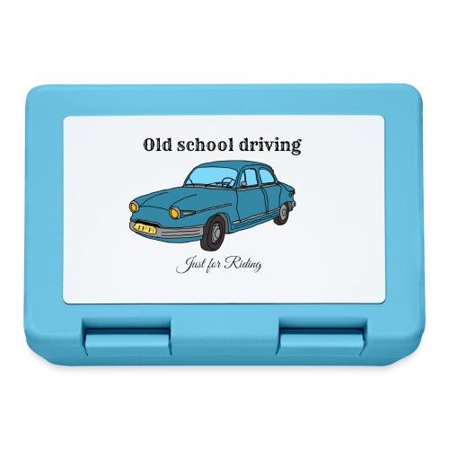 Old school driving - Boîte à goûter.