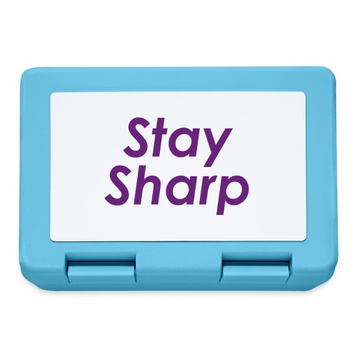 Stay Sharp - Lunch box