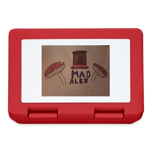 Mad Alex Logo - Lunchbox