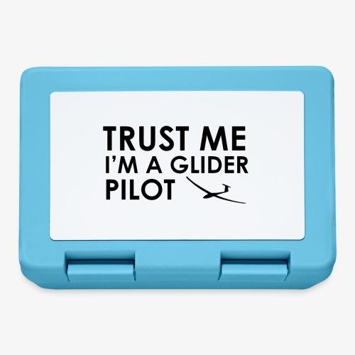 Trust me glider pilot - Boîte à goûter.