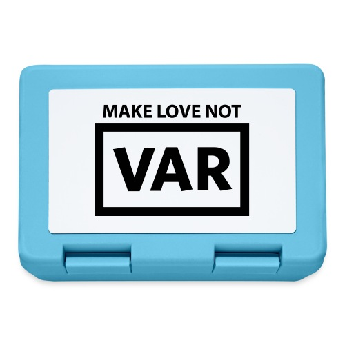 Make Love Not Var - Broodtrommel