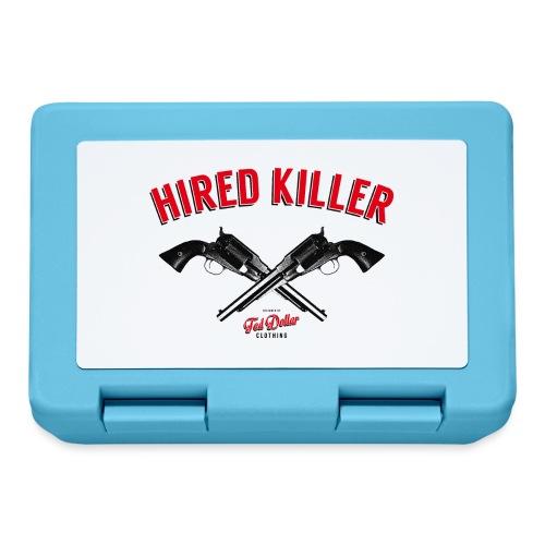 Hired Killer - Boîte à goûter.