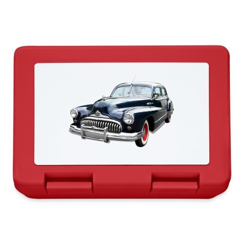 Classic Car. Buick zwart. - Broodtrommel