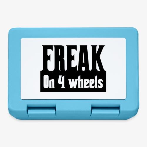 Gek op vier rolstoel wielen - Broodtrommel