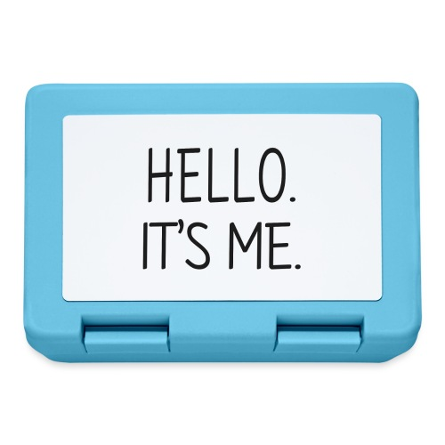 Cześć, to ja - Pudełko na lunch