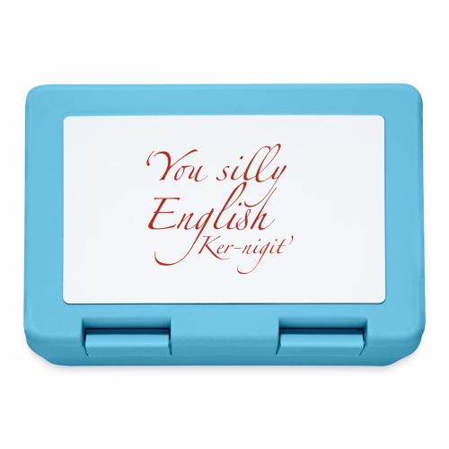 Silly English Ker-nigit by Jon Ball - Lunchbox