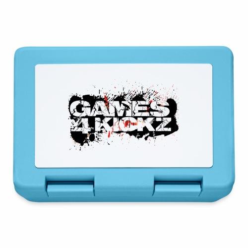 Games4Kickz Logo Splattered Background - Lunchbox