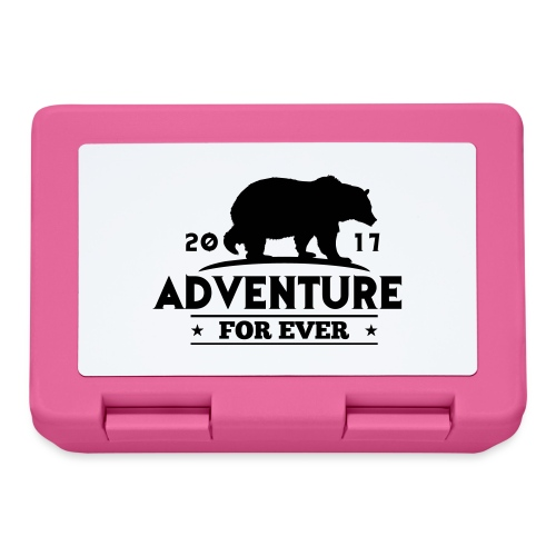 ADVENTURE FOR EVER - GRIZZLY - Lunch box