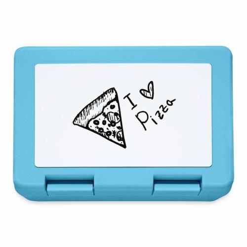 I LOVE PIZZA - Brotdose