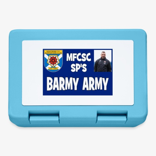 Barmy Army - Lunchbox