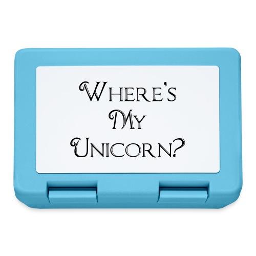 Where's My Unicorn - Lunchbox