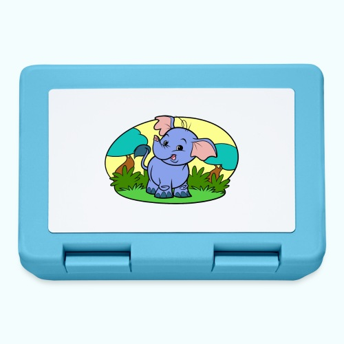 Tiny Elephant Art Collection - Lunchbox