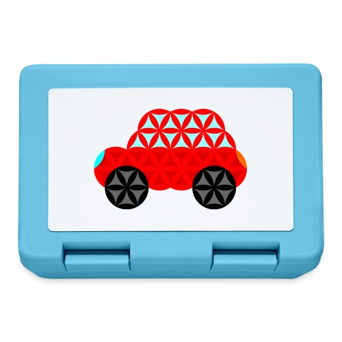 The Car Of Life - M01, Sacred Shapes, Red/R01. - Lunchbox