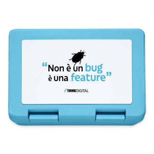Non è un BUG è una FEATURE! - Lunch box