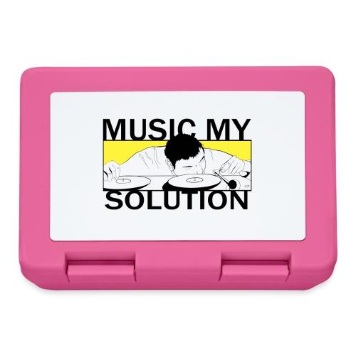 MUSIC MY SOLUTION - Boîte à goûter.