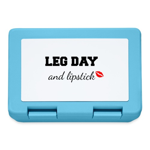 leg day and lipstick - Broodtrommel
