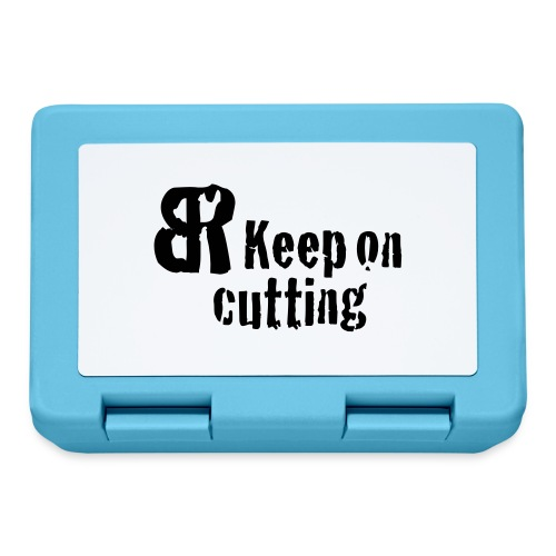 keep on cutting 1 - Brotdose