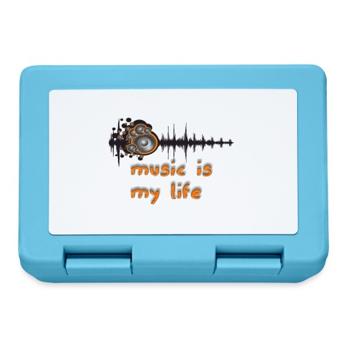 Music is my Life - Lunch box