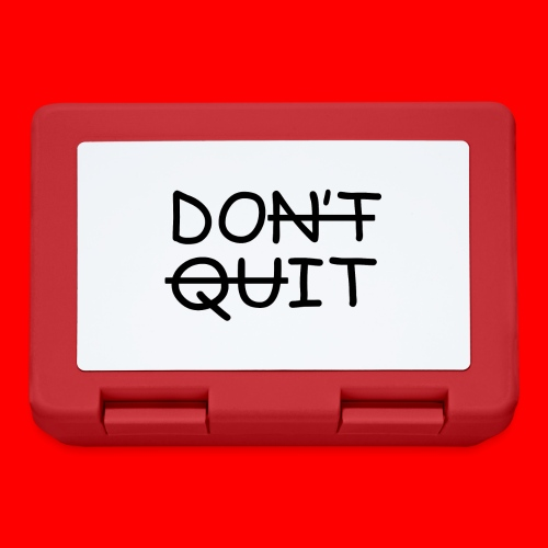 Don't Quit, Do It - Madkasse