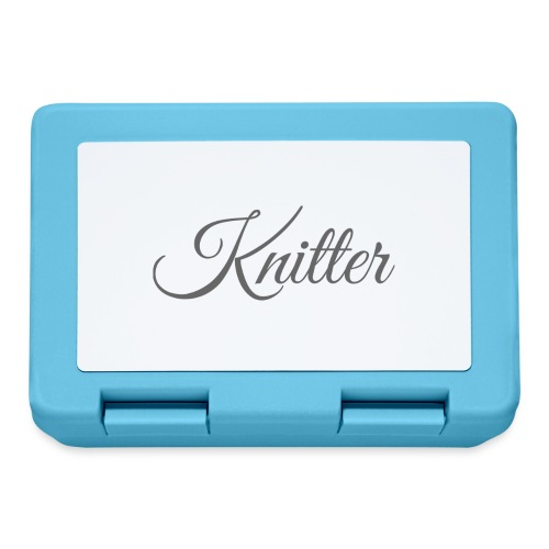 Knitter, dark gray - Lunchbox