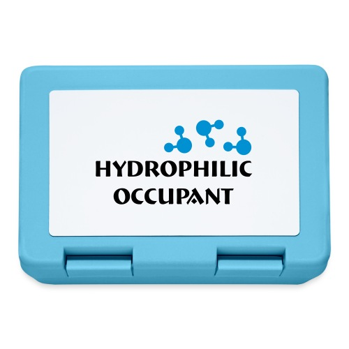 Hydrophilic Occupant (2 colour vector graphic) - Lunchbox