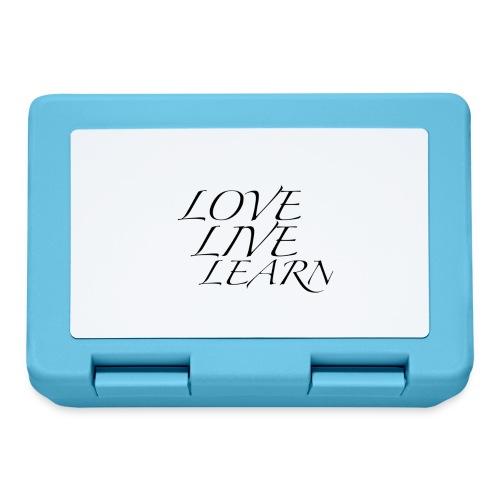 love live learn - Boîte à goûter.