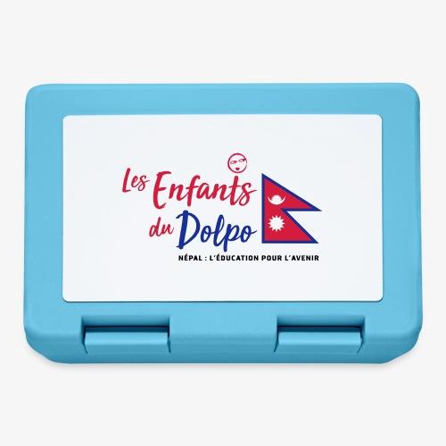 Les Enfants du Doplo - Grand Logo Centré - Boîte à goûter.