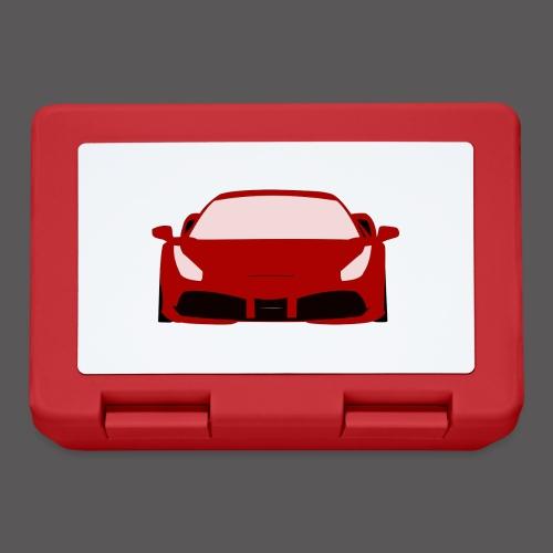 Roter Sportwagen - Brotdose