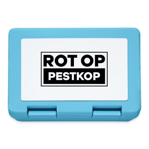Rot Op Pestkop - Block Black - Broodtrommel