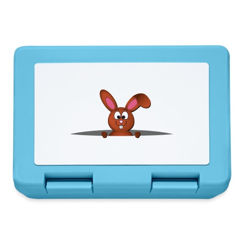 Cute bunny in the pocket - Lunch box